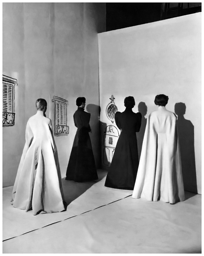 Cecil Beaton for Vogue, Charles James cloaks, 1936