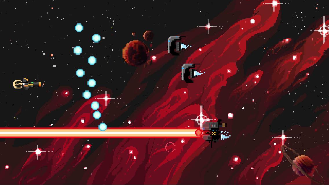 I really do like those spaceships. Pew pew pew.