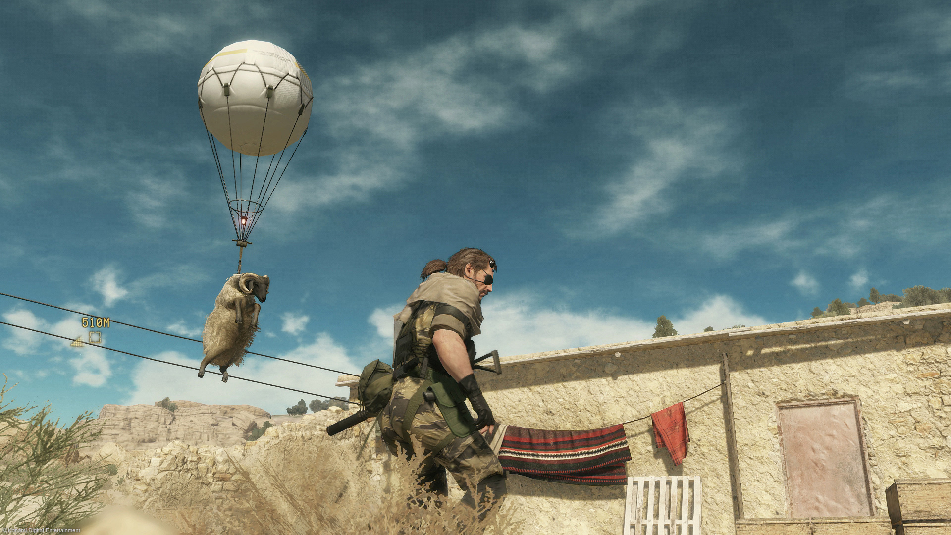 Imagine playing this game so straight-laced you never got to hear a sheep being flown away on a balloon. Tragic.