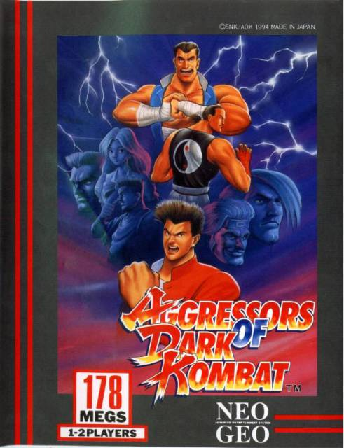 Aggressors of Dark Kombat, a one-on-one fighting game from 1994