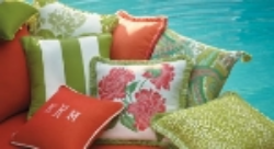 Beautiful outdoor pillows from Frontgate.