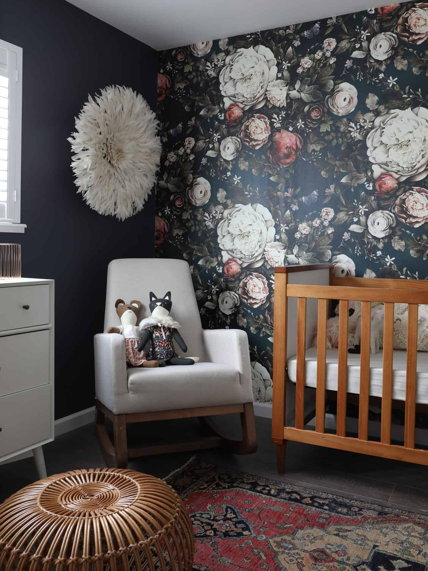 Dark And Moody Floral Wallpaper Sensational Surroundings