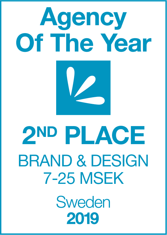 Agency Of The Year 2019 2nd PLACE Brand & Design 7-25 MSEK2.png
