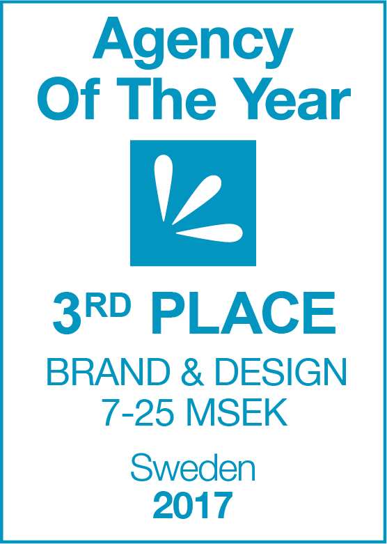Agency Of The Year 2017 3rd PLACE Brand & Design 7-25 MSEK2.png