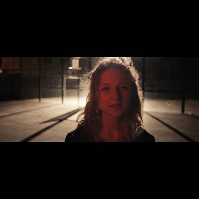 More old stuff.No budget music promo for Milly Upton, Shot on Black Magic Pocket in a basketball court behind my house. Put an M18 on my balcony down on the court to give a harsh direct light. Very simpel and very fun. Took us around an hour just fooling around.  Directed by @sarastanton.  #musicpromo #dop #singlesourcelighting #m18 #blackmagicpocket