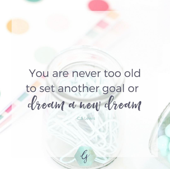 Ginny- ginnykrauss.com 's example for how to use Haute Stock's Brights collection to create inspirational quote images.