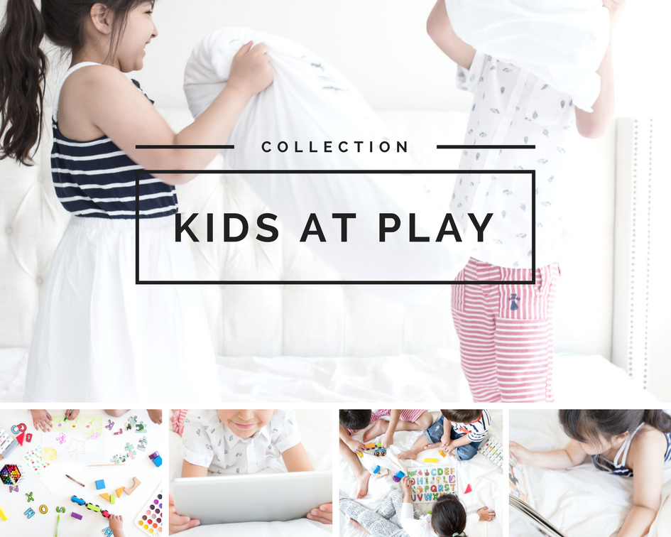 Stock photos of kids playing and having fun from Haute Chocolate
