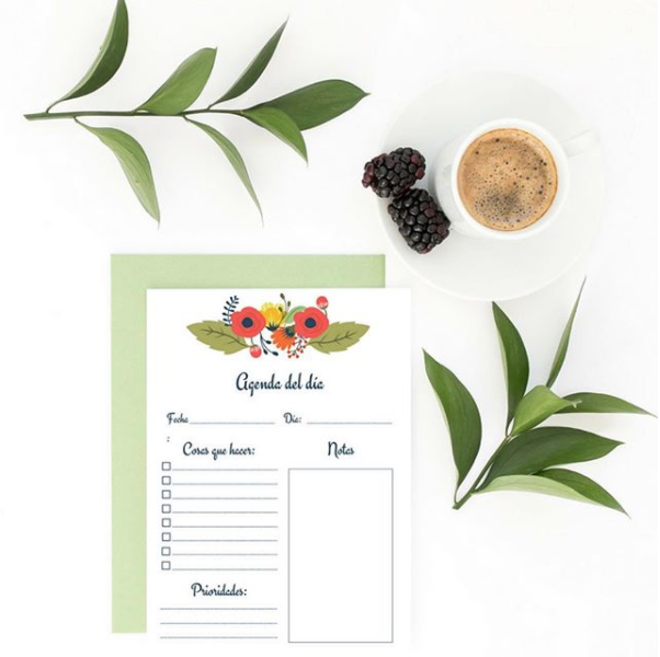 Rhina from   A Feminine Lifestyle   uses this simple invitation mockup to show off her design.The colors of the invitation are enhanced by the props in the image.