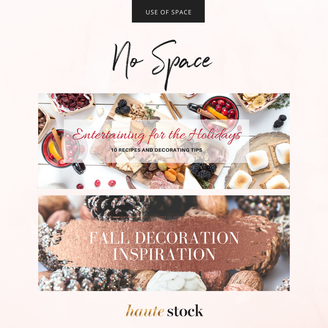 How to use images with no white space in Haute Stock's photos to create headers for your brand. Click to read the full article!