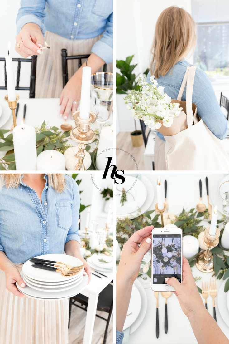 Scandinavian Inspired Styled Stock Imagery from Haute Stock Photography
