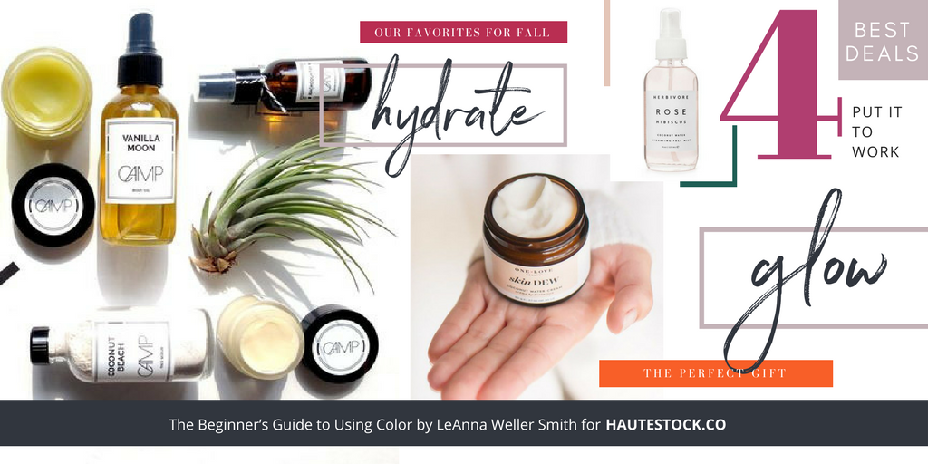 Examples of how to use your perfect color palette throughout your brand's graphics! Examples for how to use images to inspire your perfect brand color palette!  For more tips click here!