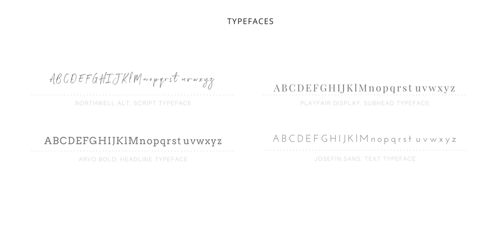 Third part of creating a Brand Style Guide - your typography! To see the full list of steps click here!