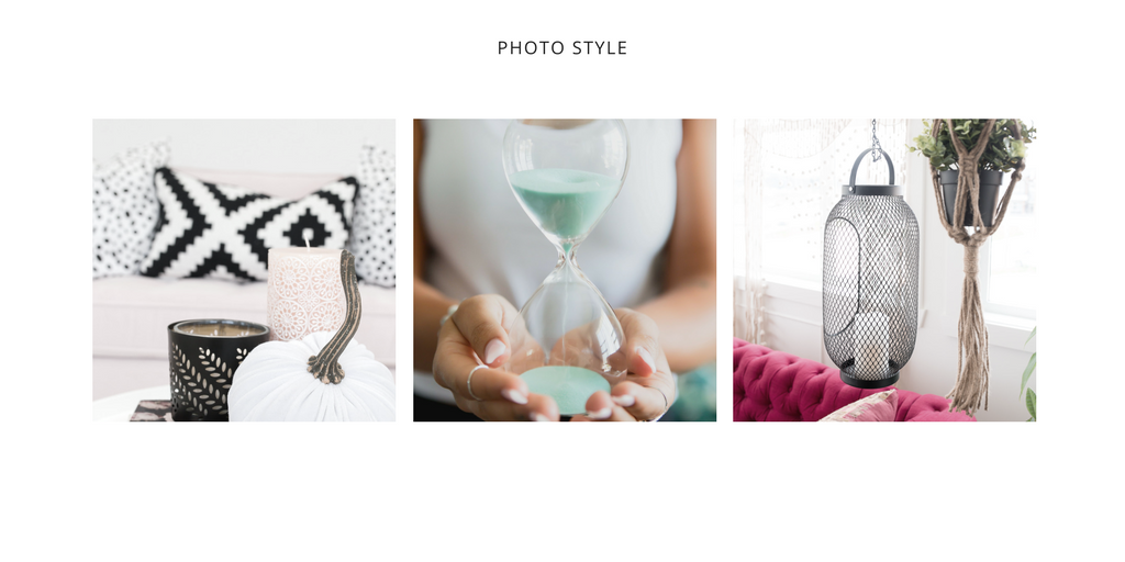 The Sixth step to creating a Brand Style Guide - Photo Styles! To see the full list of steps click here!