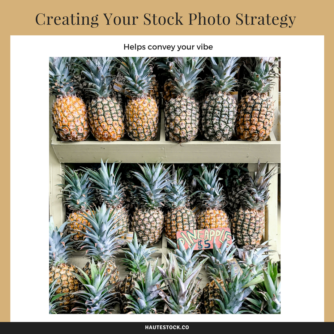 Your Vibe - How to create a stock photo strategy by using photos that look like they could be a part of your personal collection and fits with your personality. For more useful tips, Click to read the full article!
