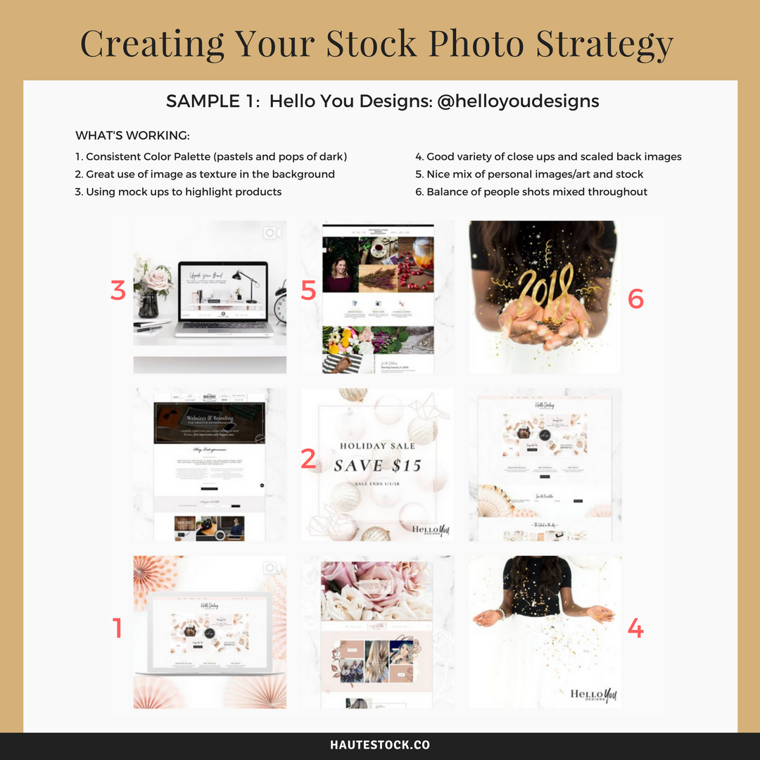 How to create a stock photo strategy that mixes original brand photos and stock photos
