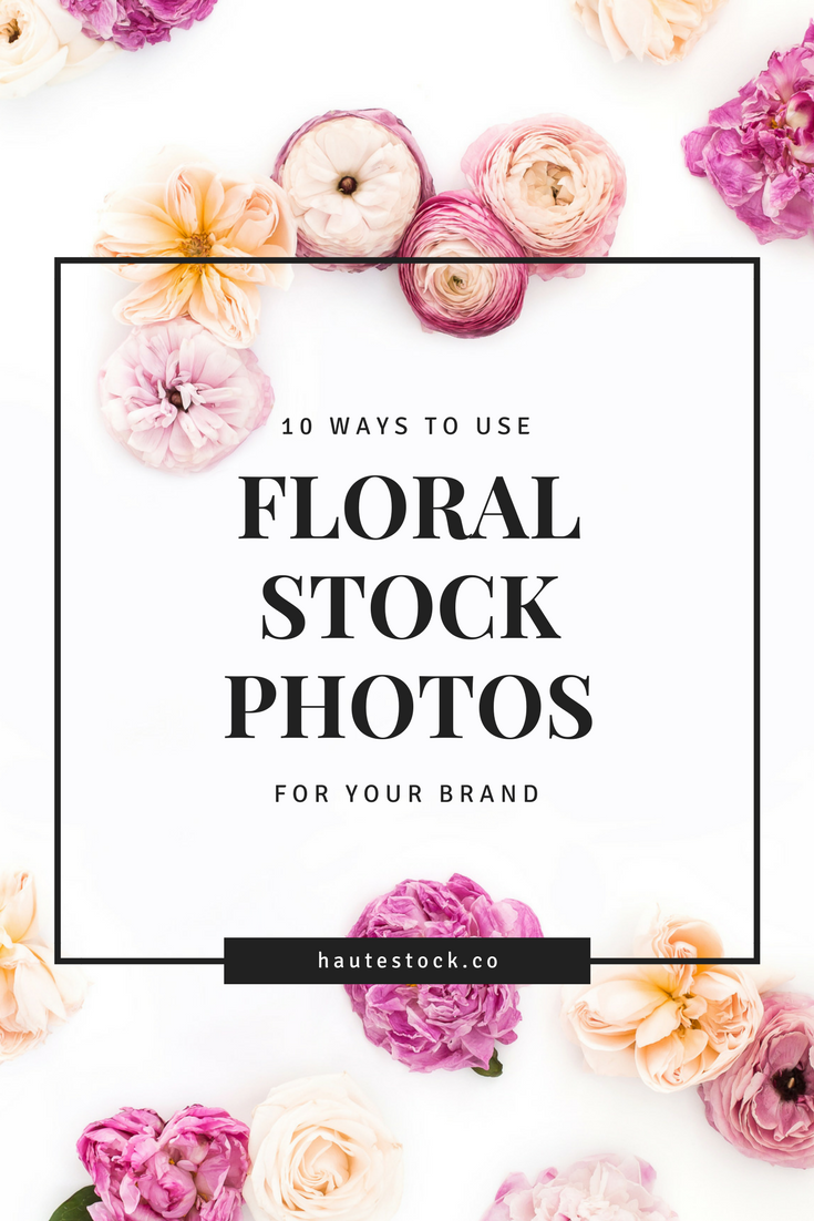With spring coming up it's time to start prepping for your seasonal promotions and freshen up your brand! This detailed tutorial will show you how to create 10 different types of images for your Spring promotions using floral stock photos from the Haute Stock Membership. Click to read the full post!