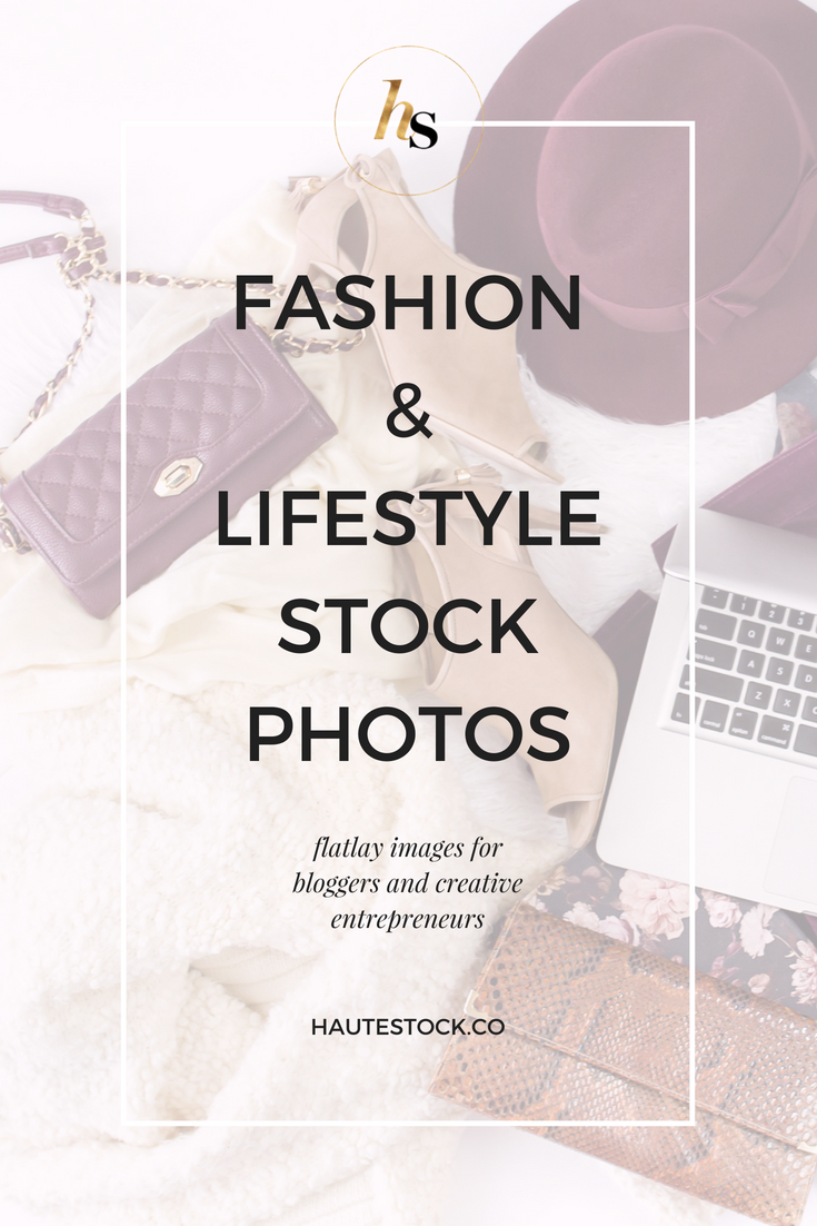 Haute Stock's Bon Voyage and Grey Days collections feature fashion and lifestyle stock photos for women entrepreneurs.