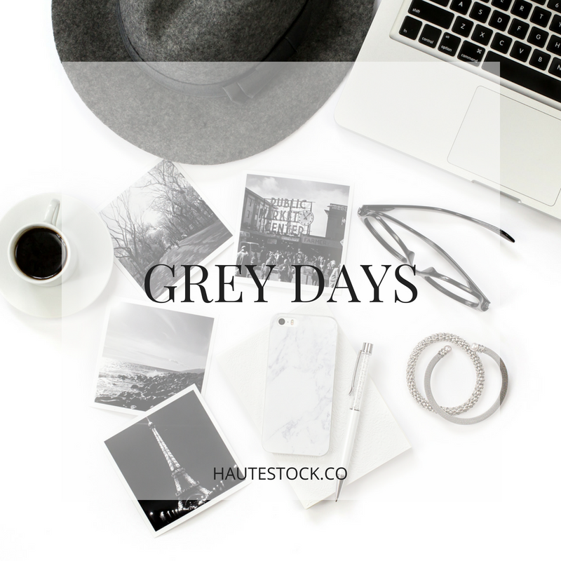 Greys Days collection is perfect for the female entrepreneur who loves clean lines and monochrome palettes.