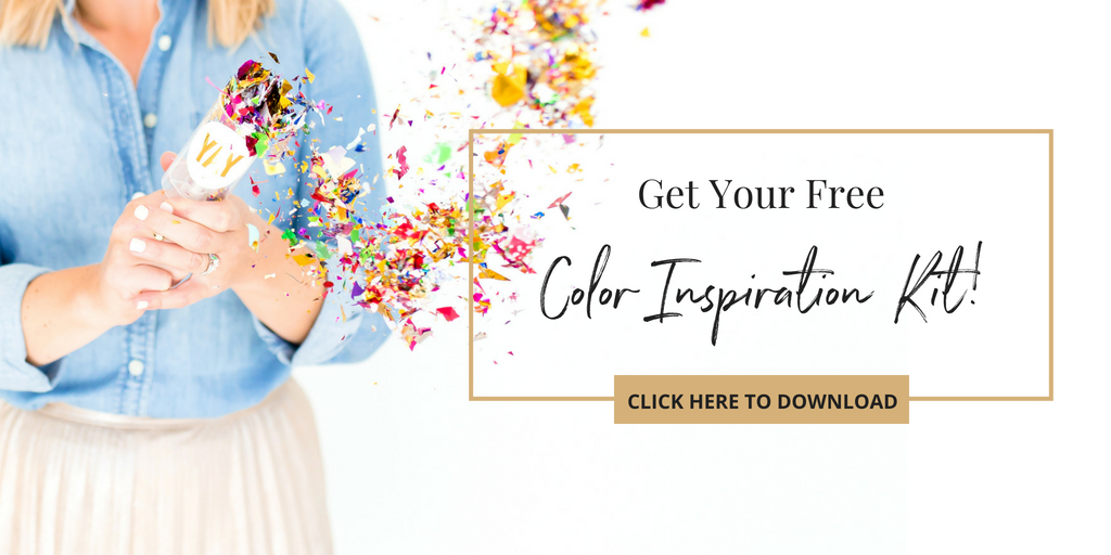 Branding color tips and suggestions from Haute Stock! Click here to download your free color inspiration kit!