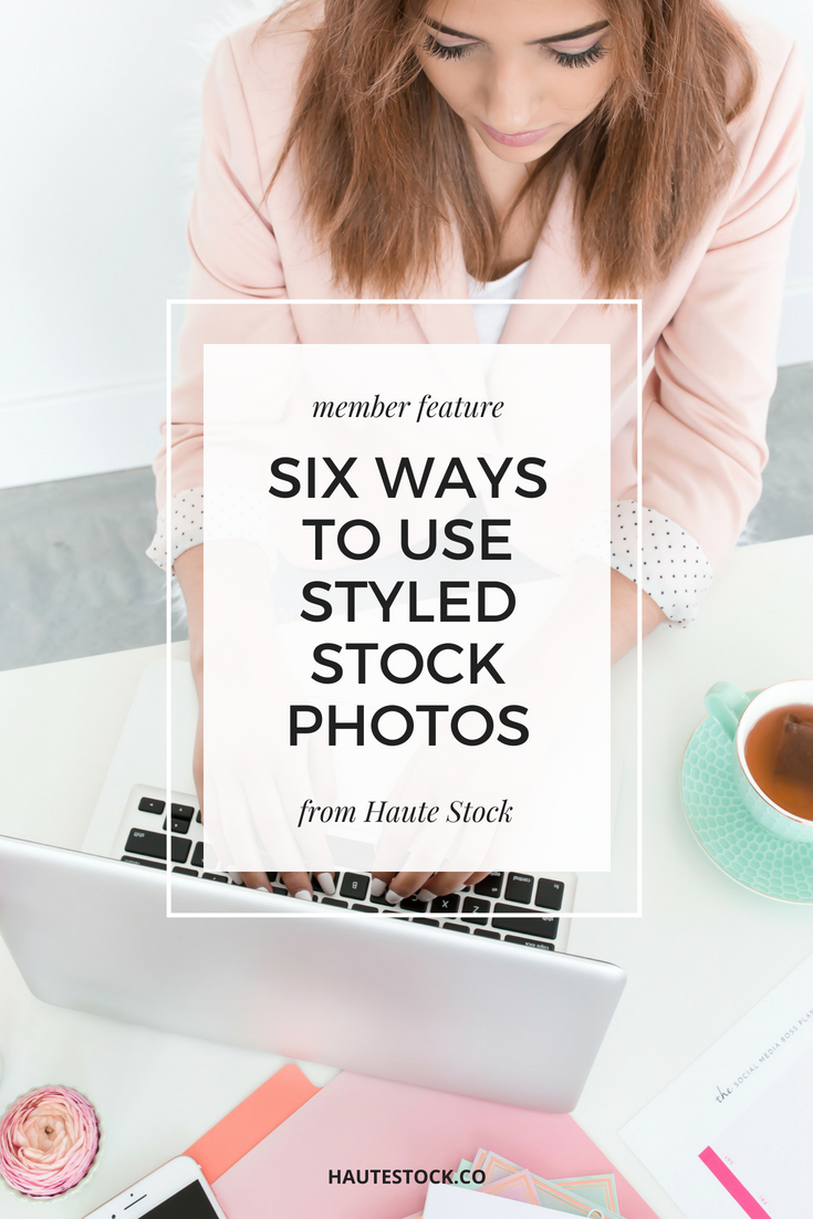 Take a look to see how members are using Haute Stock's Brights Collection images for their business.