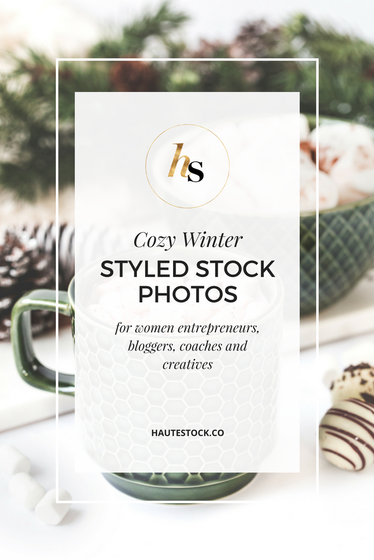Haute Stock's Cozy Winter and Holiday Stock Photos.