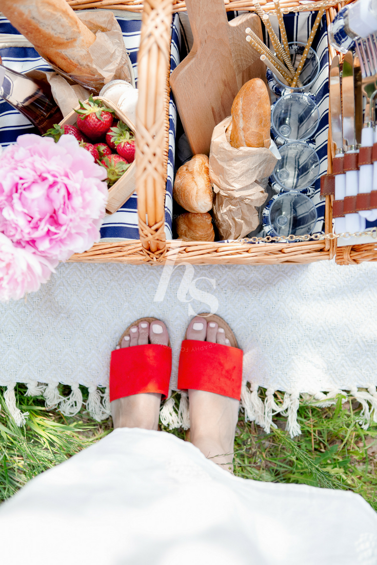 A vintage inspired summertime picnic lifestyle collection from Haute Stock