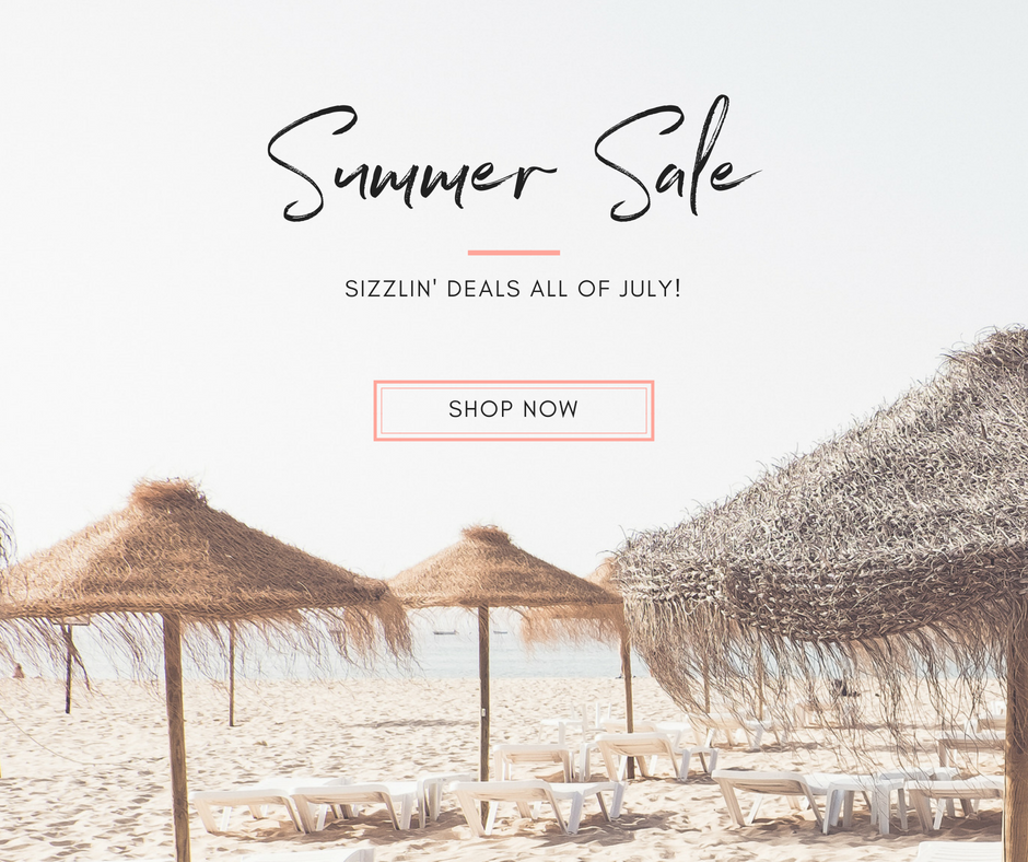 Haute Stock Photography Summer Promotional Graphics Examples - How to create graphics for your summer ads and promotions that sell!