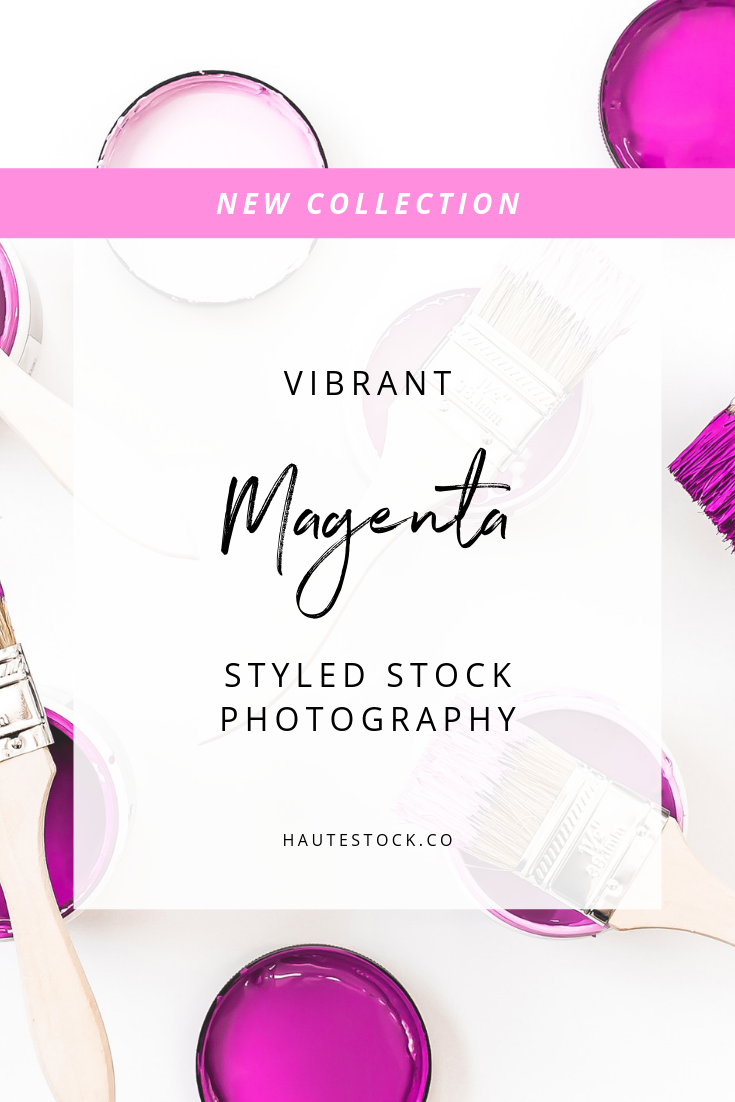 Magenta branding never looked so good! Haute Stock's collection of these vibrant, bright pink images are perfect for brands that want to make a bold color statement! Click to view the entire collection.