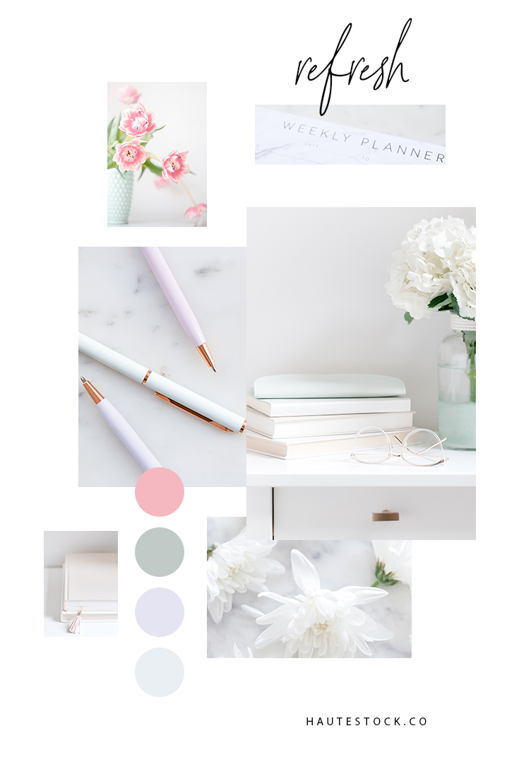 Light and bright styled stock photography with a clean, rejuvenating palette that screams spring! Click to see the entire collection!
