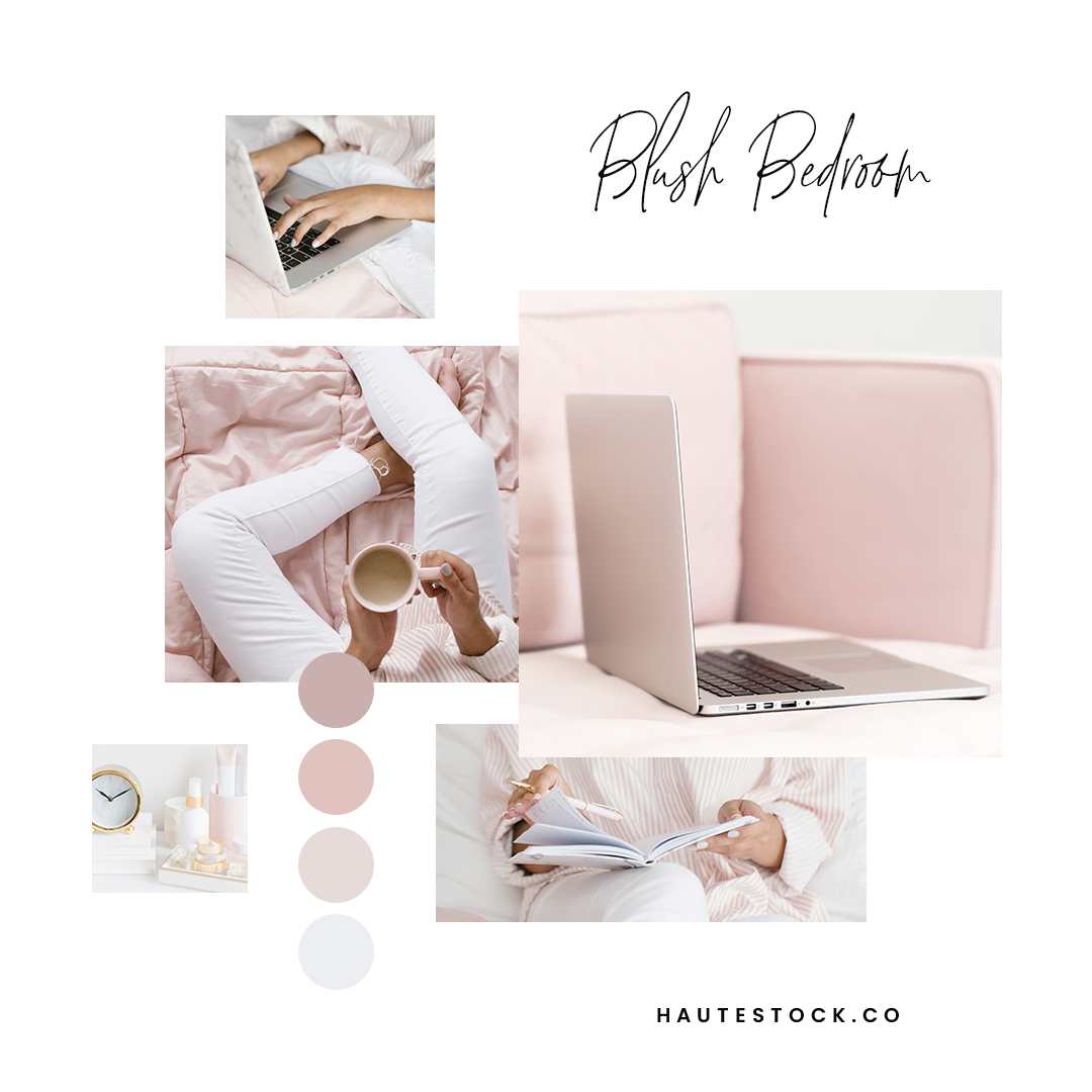 Haute Stock's Blush Bedroom is the perfect collection to mix and match with! Click to get inspired!