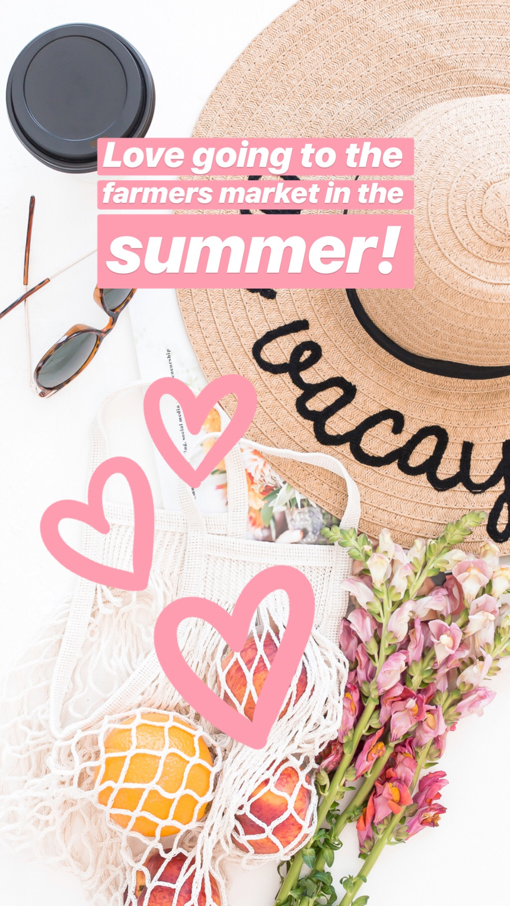 Easily create eye catching Instagram Stories graphics with a Haute Stock Membership! You'll not only get access to beautiful feminine stock photos, you'll also get access to exclusive Graphics Packs with design elements like the Instagram overlay stickers used here!