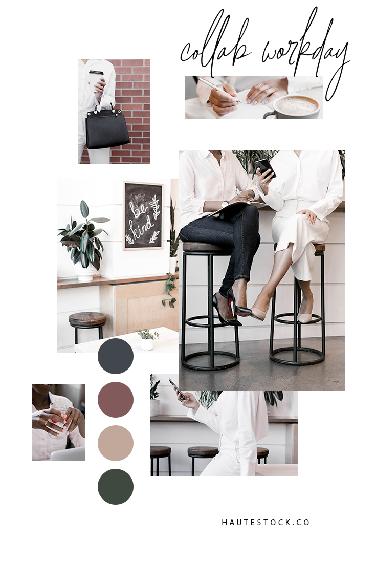 Workspace collaborating images for women business owners from Haute Stock. Click for a full preview of the entire collection!