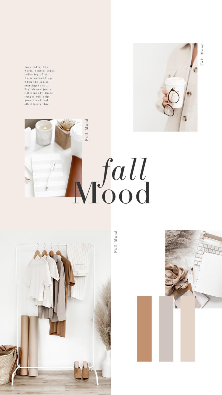Os Neutros da Warm Warm fazem desta coleção a perfeita para adicionar ao Instagram, Mídias Sociais, Blog Posts e sites, especialmente para blogueiros de moda e estilo de vida!