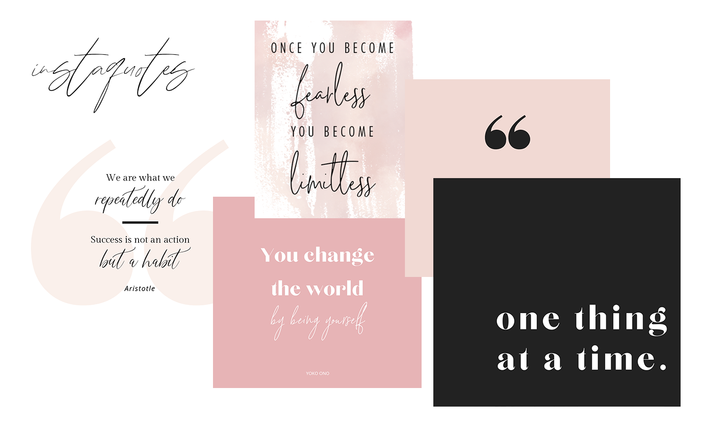 Social Media Quotes - For those days when you just need something to post. Pre-made social media quotes to inspire, empower, or just make your followers laugh! New quotes are released every month so you'll always have something fresh. Guaranteed to get lots of engagement on social media.