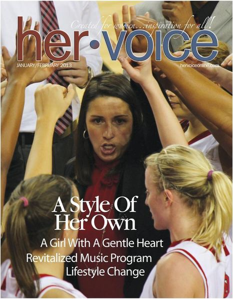 Her Voice women's magazine