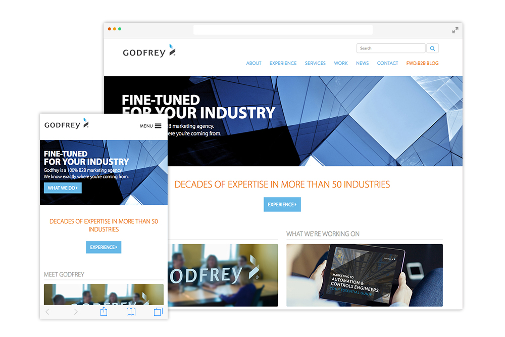 godfrey-website