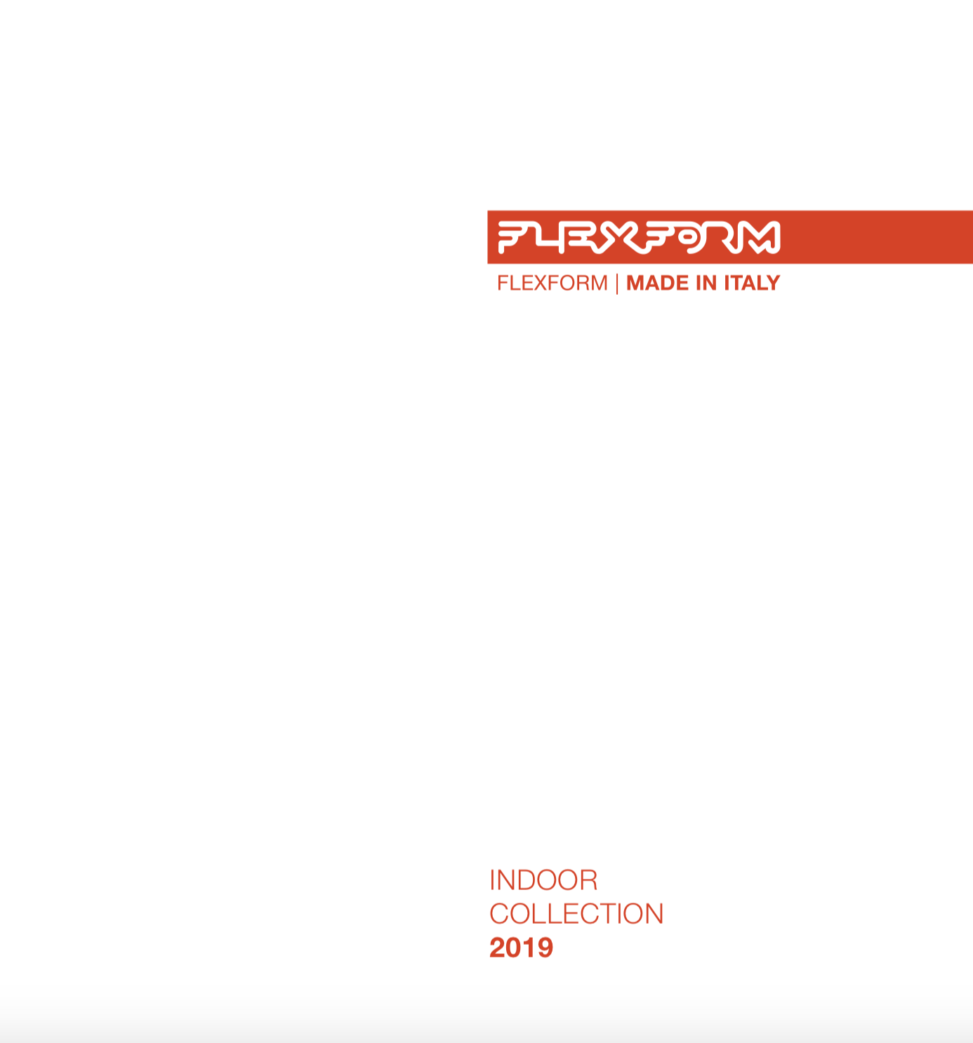 Flexform Indoor Collection 2019