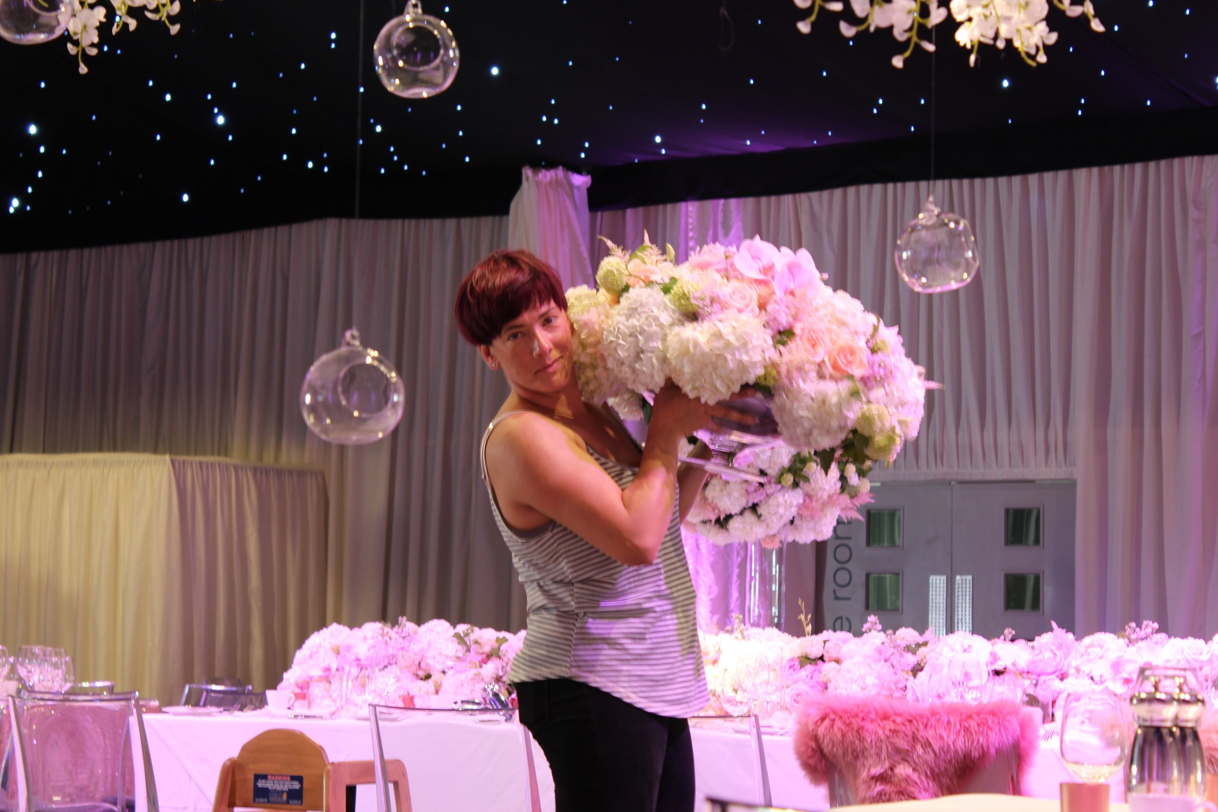 Hydrangea Wedding Arrangement.jpg