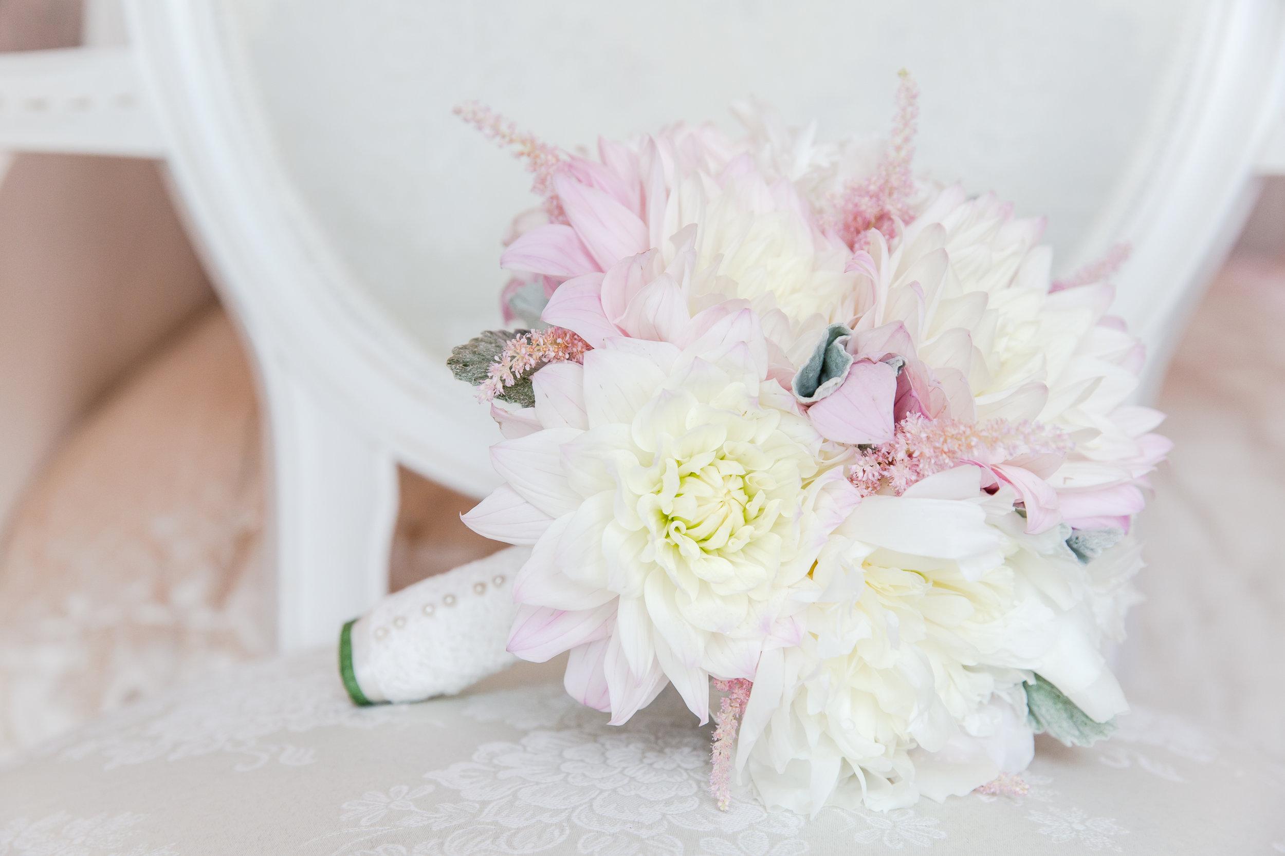 Cafe Au Lait Dahlia Wedding Bouquet.JPG