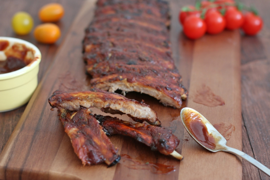 baked barbeque ribs