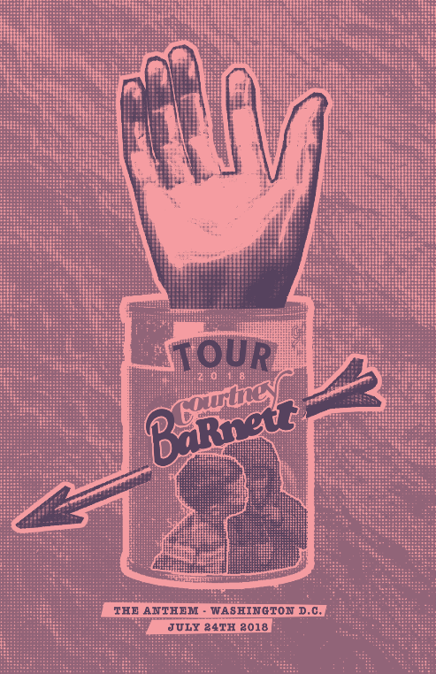 Courtney Barnett     Role: Poster Design Conceptual Design""
