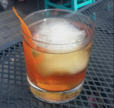 """The """"Hola Fashioned"""" cocktail"""