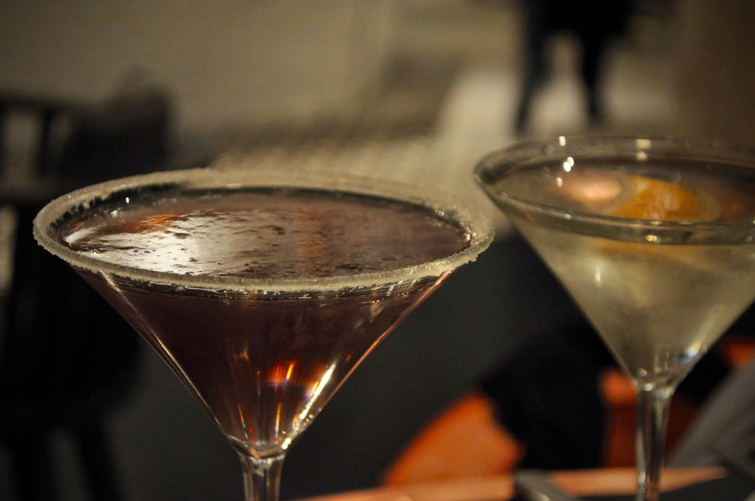 Craft Cocktails: Lavender Breeze & Pear Blossom