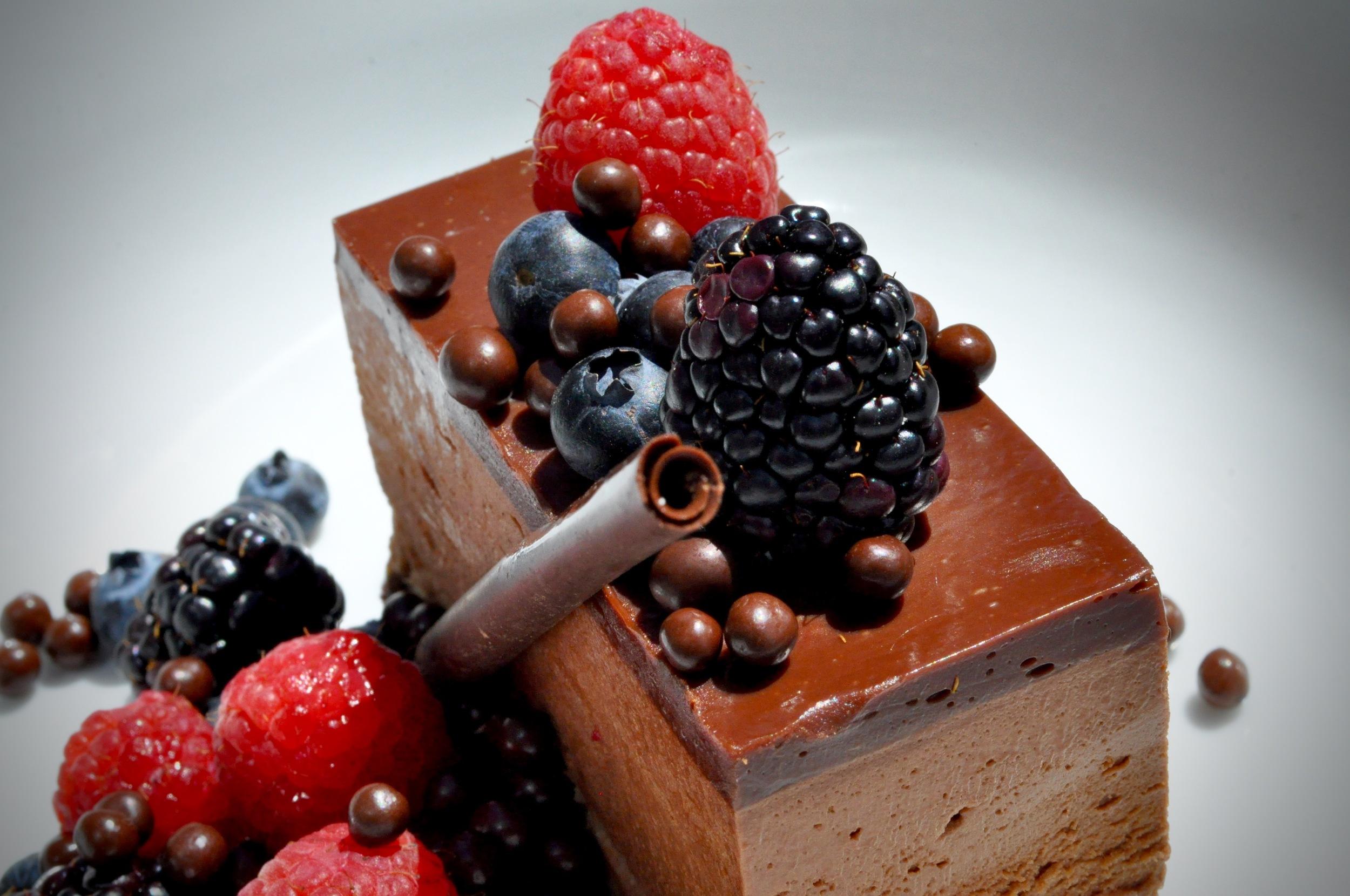 CHOCOLATE TORTE.