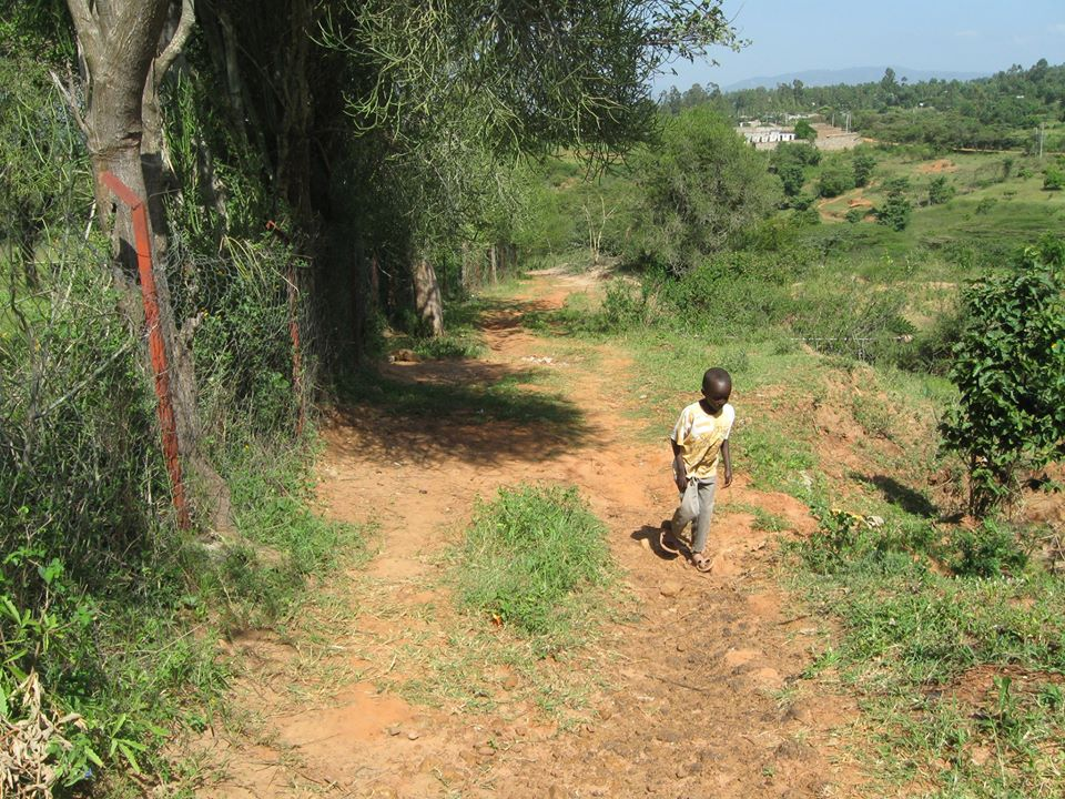 Kyangala Beitzel Road - This road was built to provide greater access to the village for vehicles
