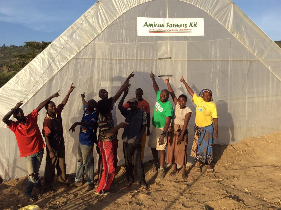 Green House - Empowering Kenyan women by constructing a greenhouse.