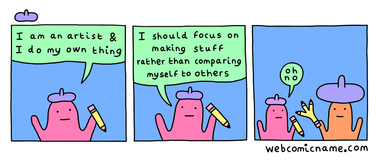 These comics absolutely kill me:  http://webcomicname.com/
