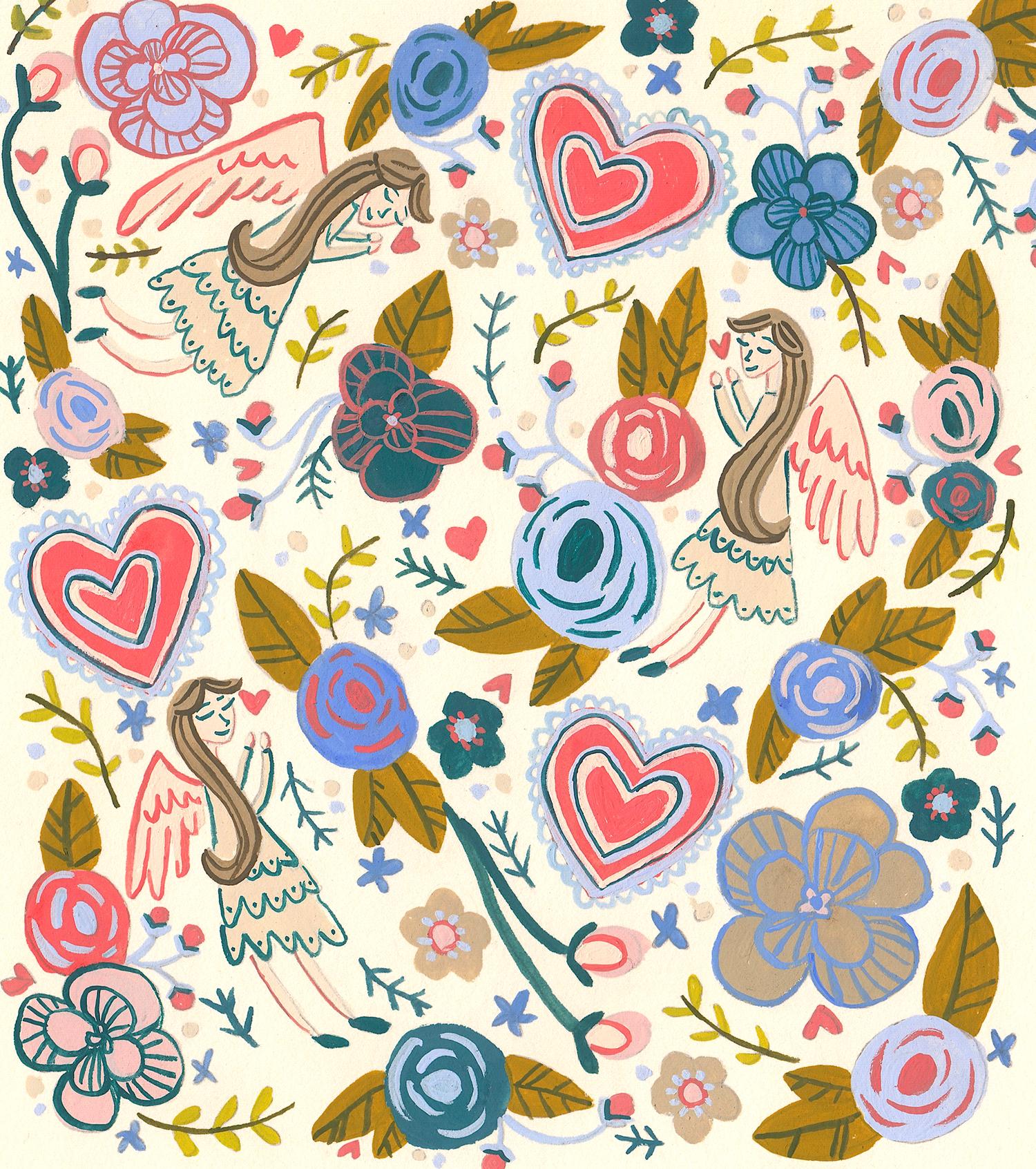 Angels on Earth Magazine: Angel Pattern