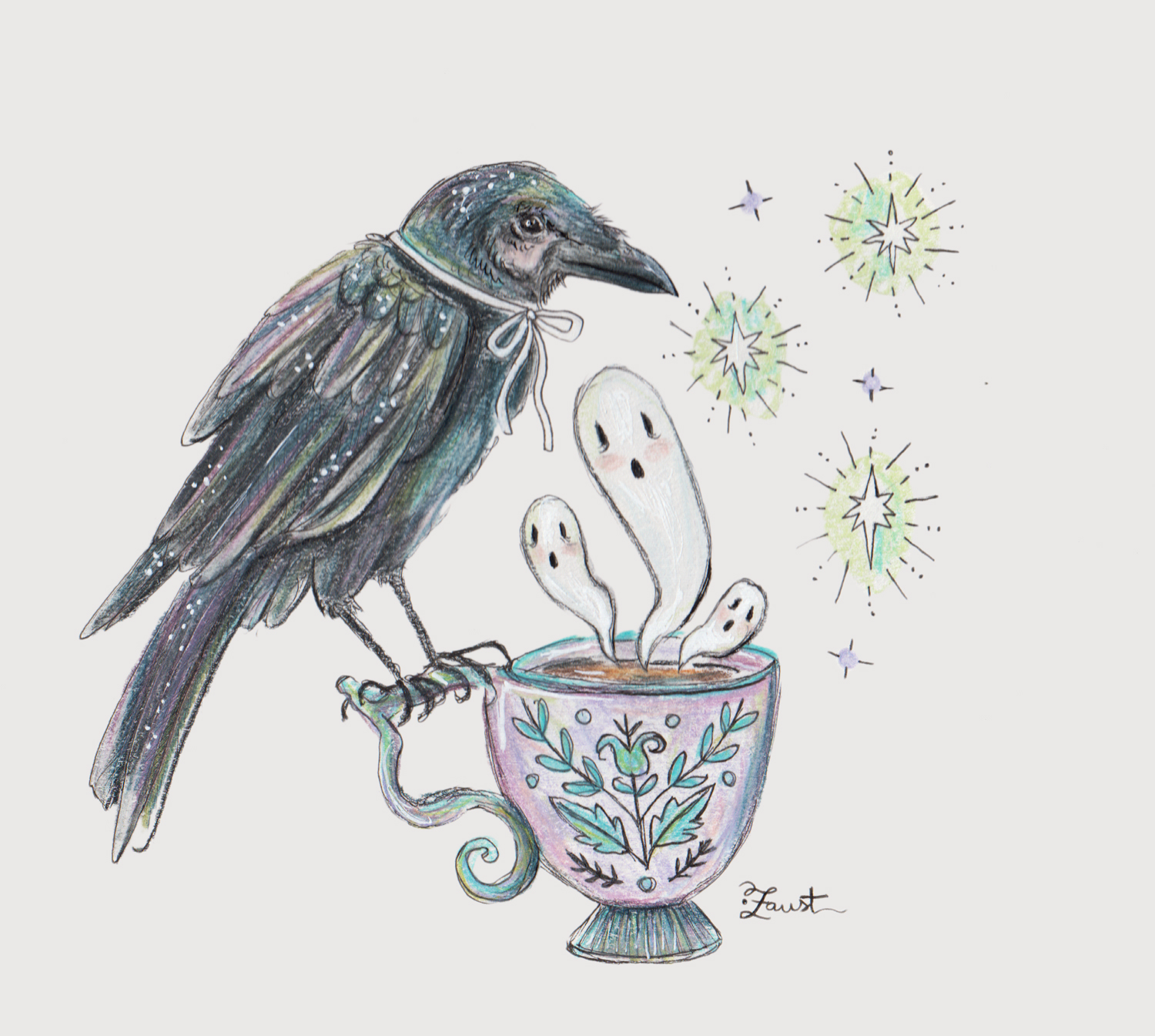 The Raven and the Ghostea