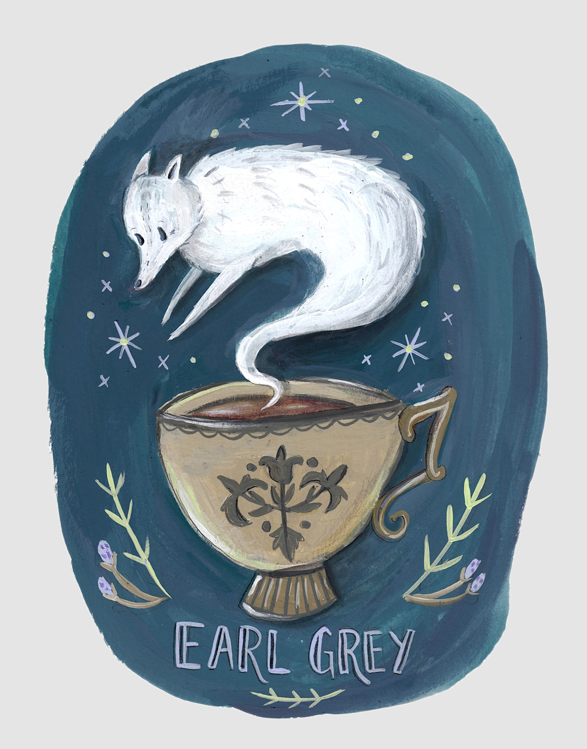 Earl Grey Ghostea